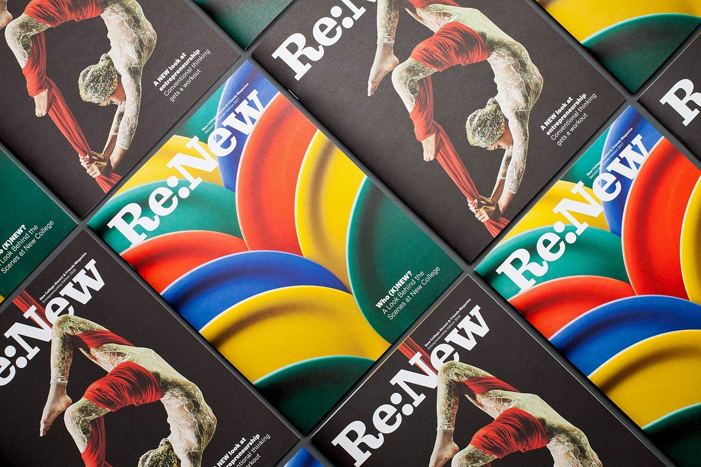 ReNew Magazine, 2016 and 2017 editions