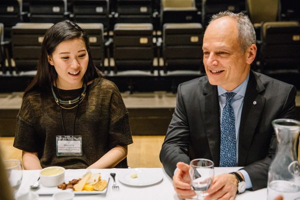 Meric Gertler and Jihong Min.